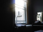 Morning in my apartment on Rue Clark